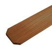 Dog Ear Wood Fence Picket with Stain