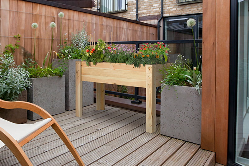 elevated garden. Four Ways To Garden In A Small Space Elevated