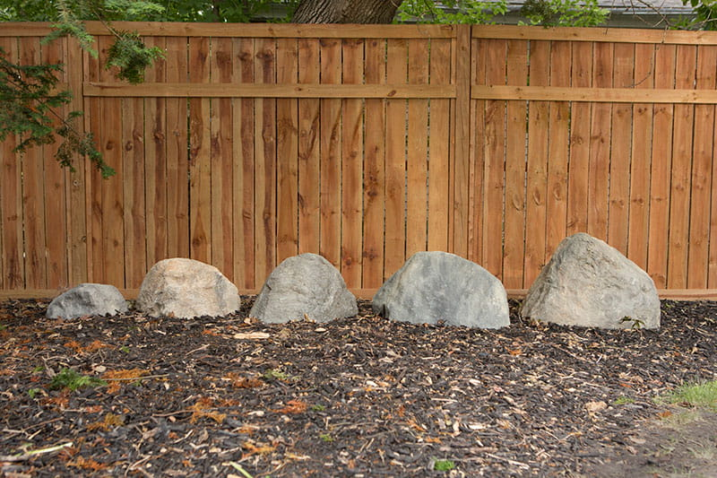 Artificial rock size comparison - small, medium, large, extra large, jumbo