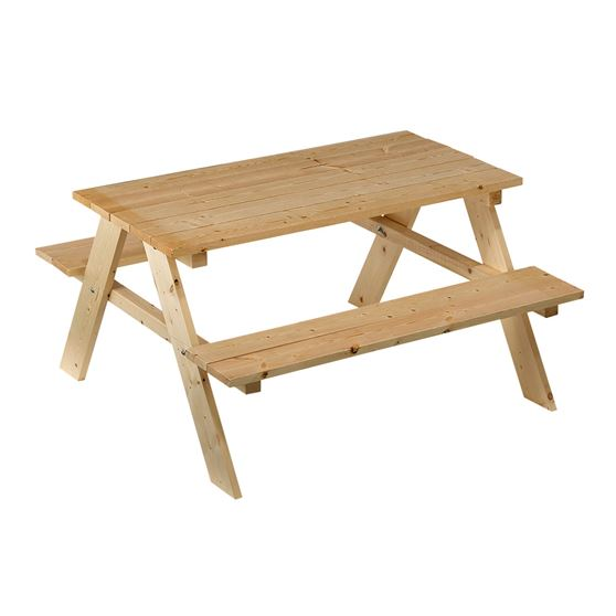 outdoor essentials kids picnic table