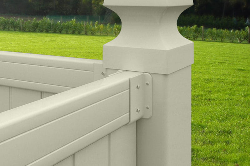 Outdoor Essentials vinyl fence brackets