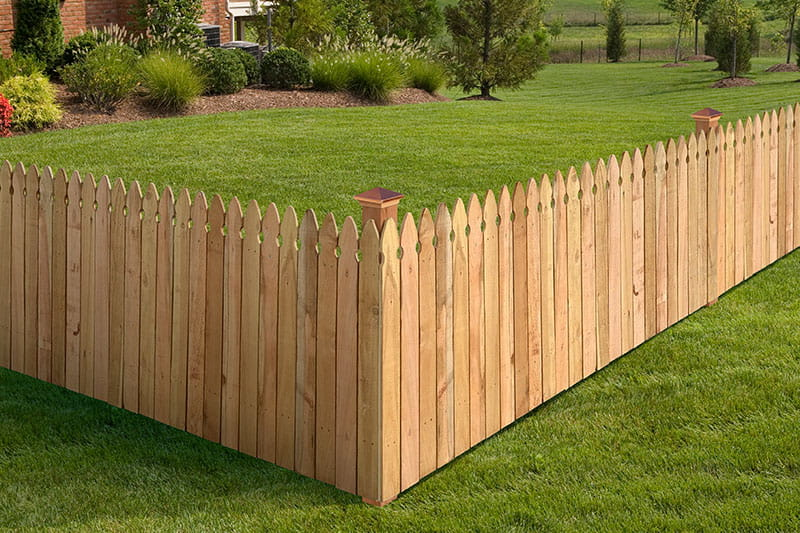 choosing the right wood fence style outdoor essentials