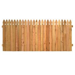 Fence panel kits outdoor essentials 35x8 cedar french gothic privacy solutioingenieria Choice Image