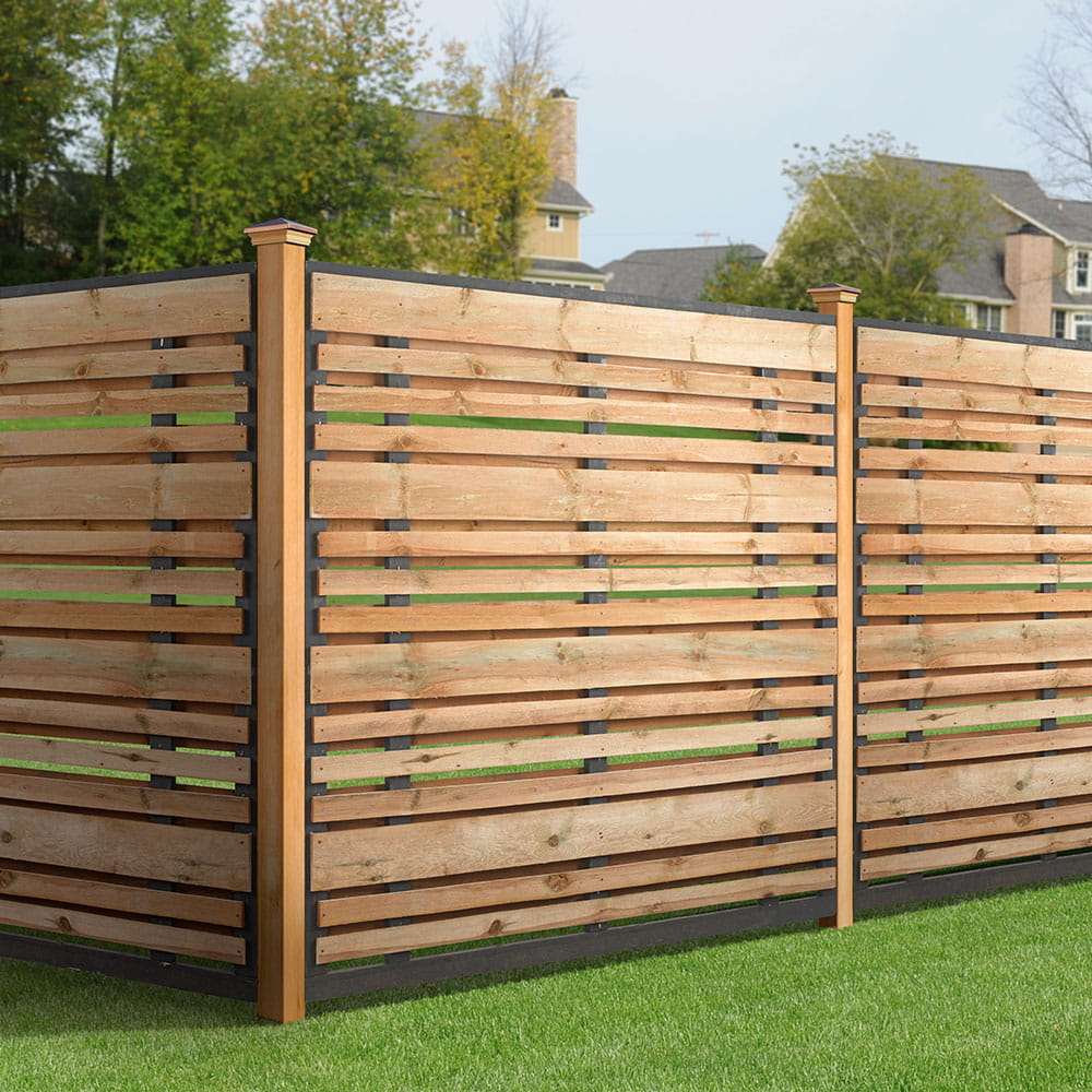 6x6 Horizontal Fence Panel Kit