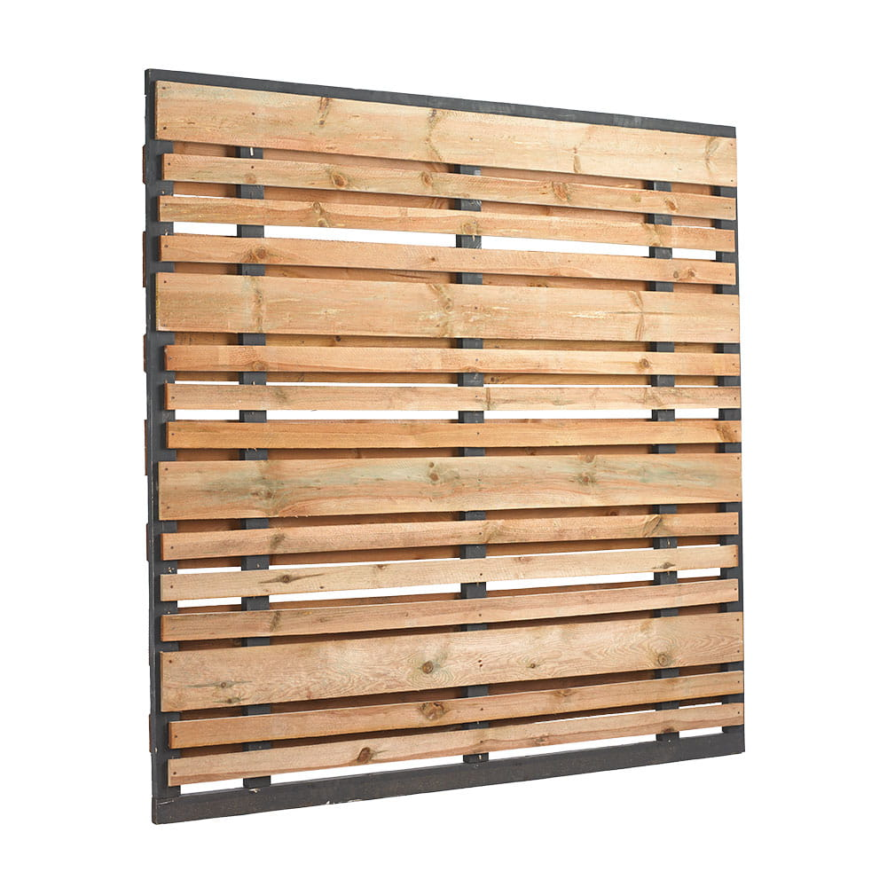 horizontal wood fence panel. Perfect Wood Outdoor Essentials 6x6 Horizontal Semiprivacy Wood Fence Panel In Horizontal Wood Fence Panel W