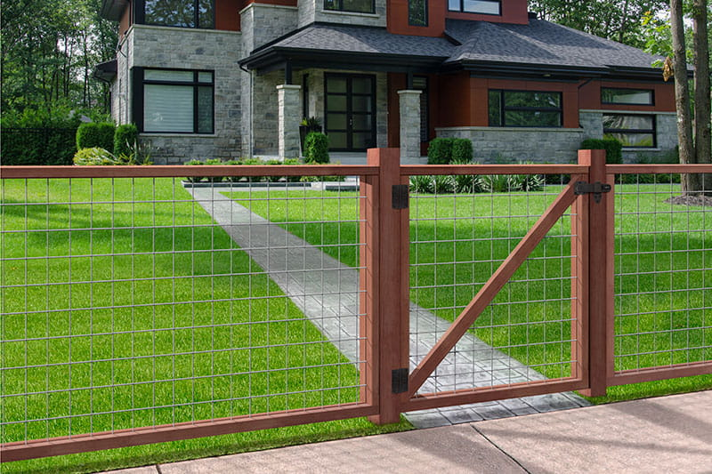 Wood Fence Outdoor Essentials