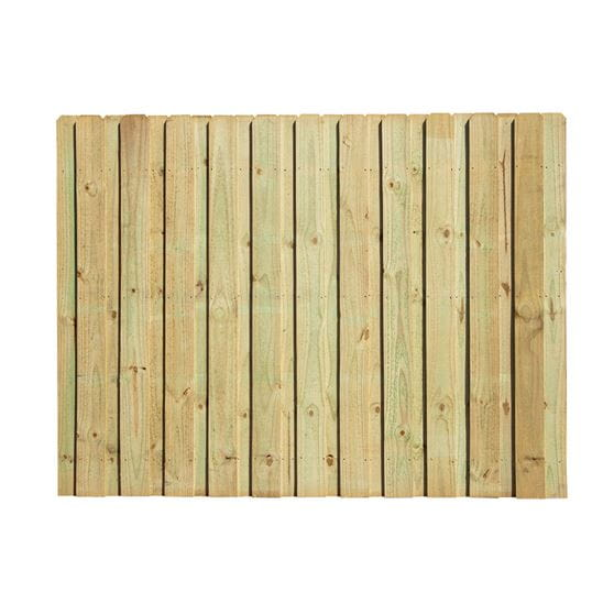 outdoor essentials board on board wood fence panel