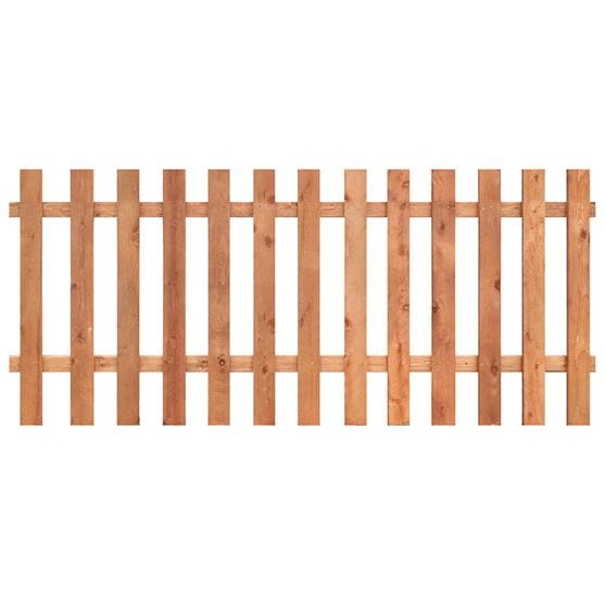 Spaced Picket Fence Panels - Outdoor Essentials