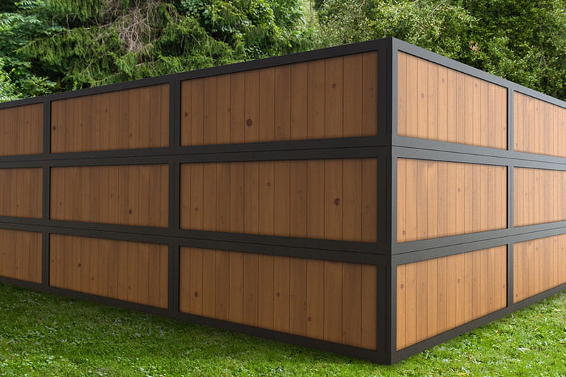 How To Give Your Backyard Privacy With 2x6 Wood Fence Panels