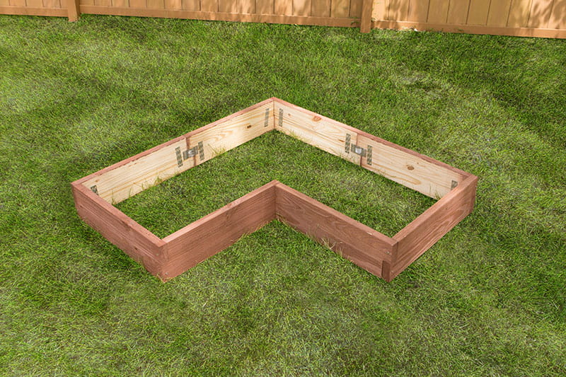 How To Build An L Shaped Raised Garden Bed