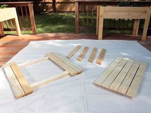 Add Color To Your Picnic Table Outdoor Essentials - How to stain a picnic table