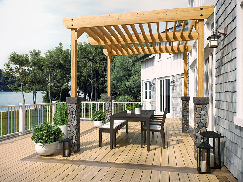 Ways a pergola can make your outside space more homey outdoor