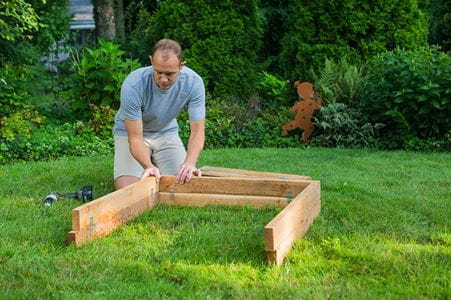 outdoor essentials raised garden bed assembly