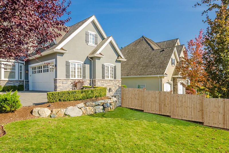 Wood fence outdoor essentials for How to get started building a home