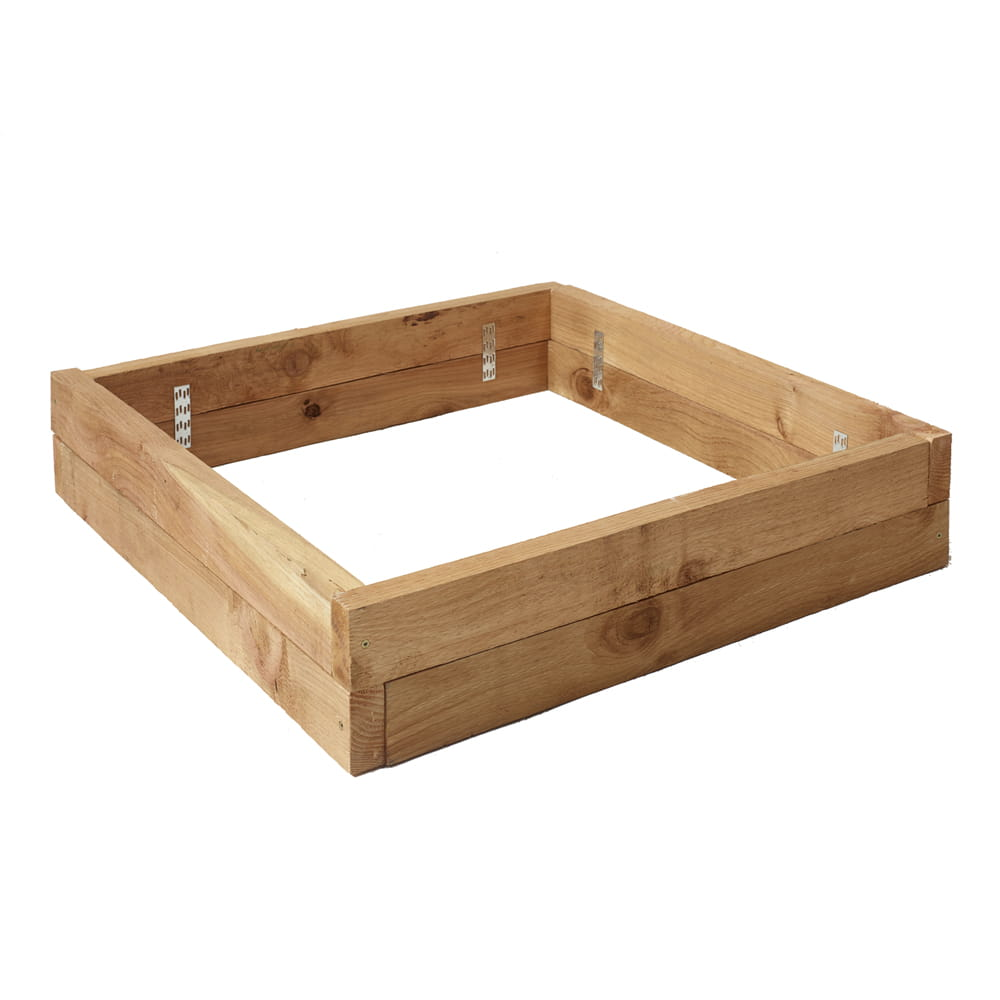 Outdoor Essentials 3x3 Cedar Raised Garden Bed Assembled
