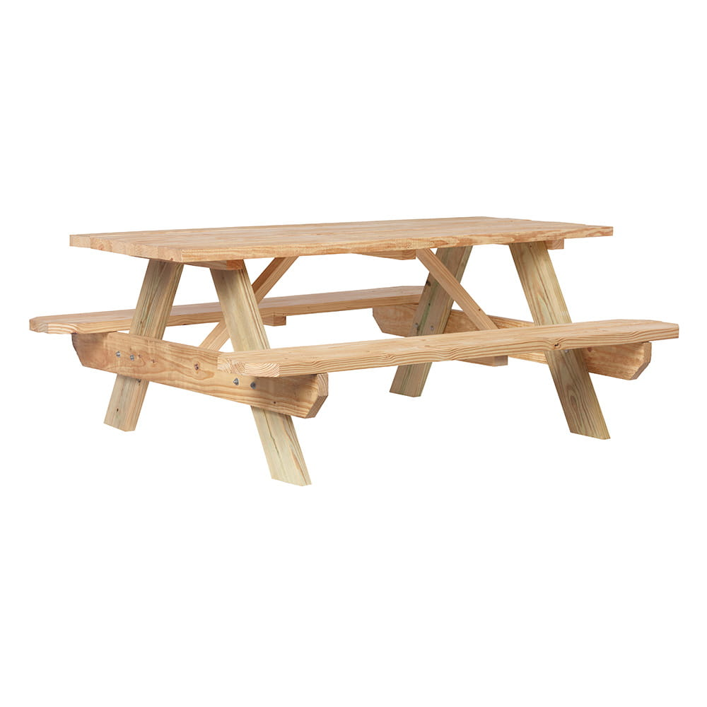 outdoor essentials wood picnic table - Wood Picnic Table