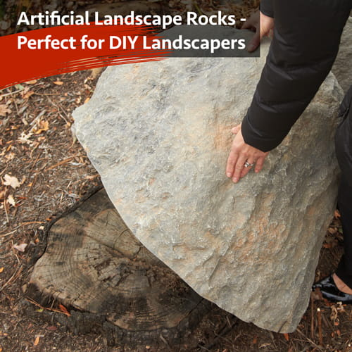 Artificial Landscape Rocks - Perfect for DIY landscaping